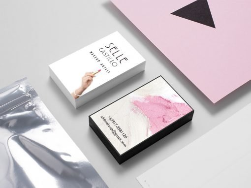 Business Card for a Make Up Artist