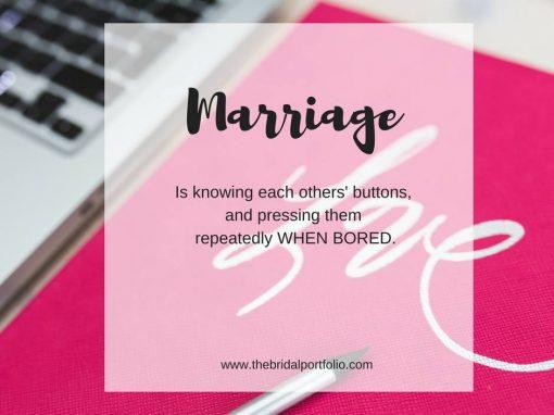 Social Media Posts : Wedding Industry