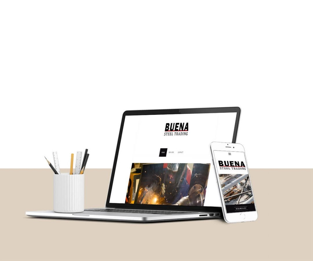 Steel Company Website