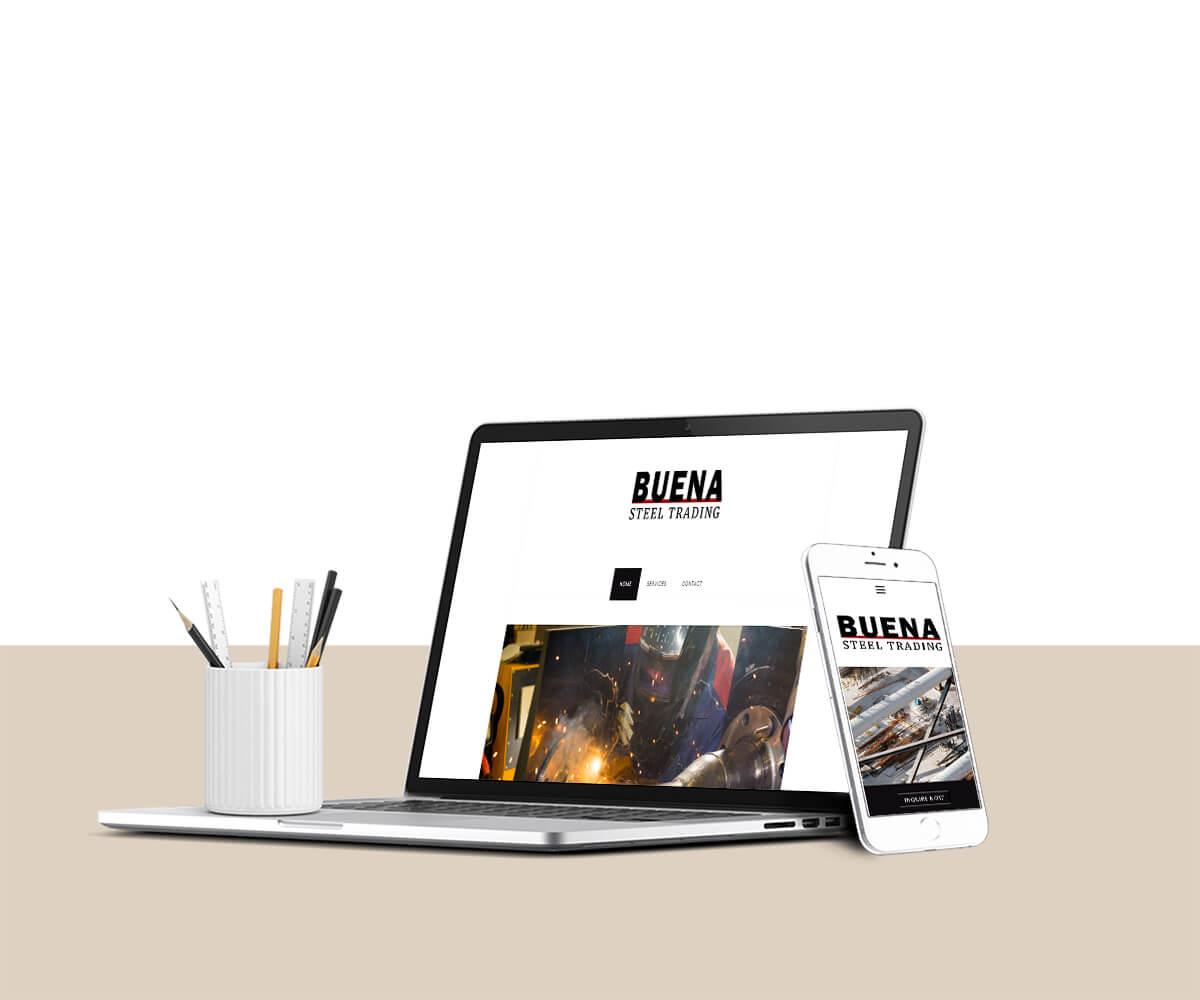 Steel Company Website