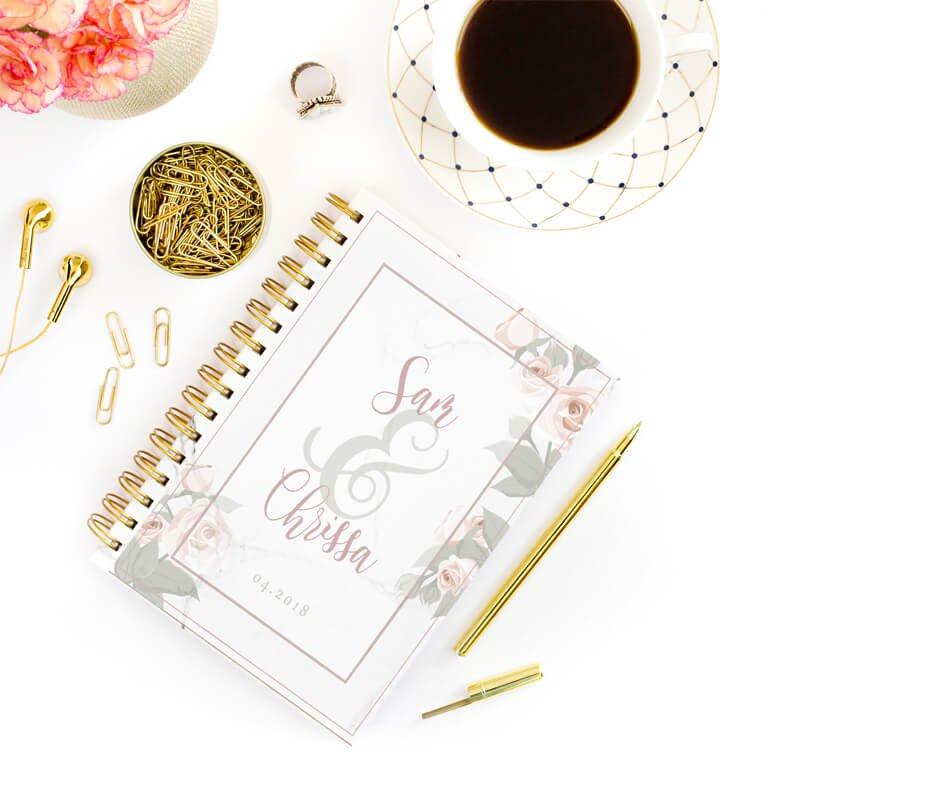 Wedding Planner Cover Design