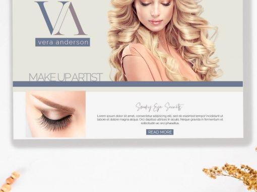Make Up Artist Website
